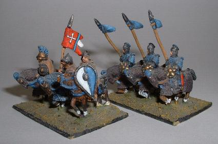 Byzantine and Nikephorian/Later Tagmatic Cavalry