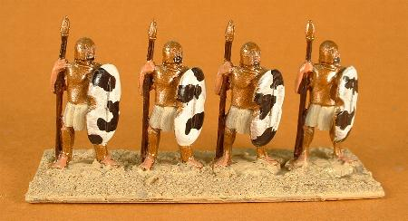 NBA17 Mycenian Greek Heavy Spearman standing