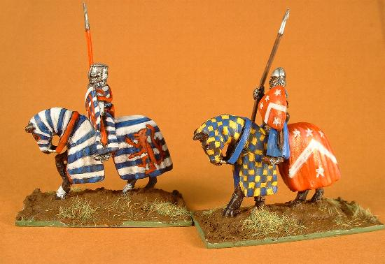 C24 Mounted knight Templar with lance
