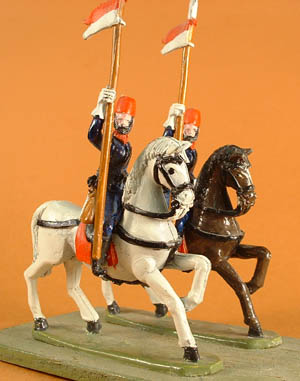 LWT 10 Cavalry with lance