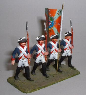 Prussian Musketeer march  attack (LWSY17)