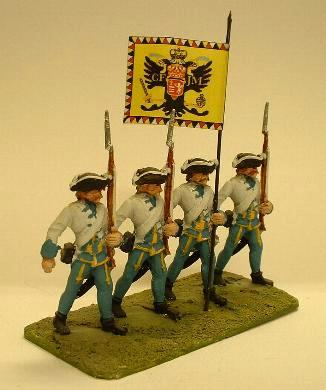 Austrian musketeer march attack (LWSY21)