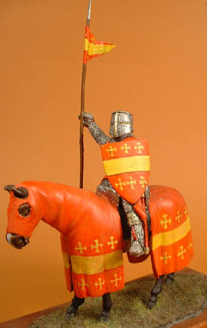 Crusader Mounted Knight