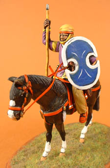 Persian Cavalry with spear, bow & shield