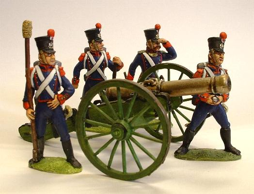 French gun and crew