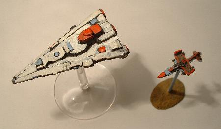 SH3 Destroyer with Minifighter