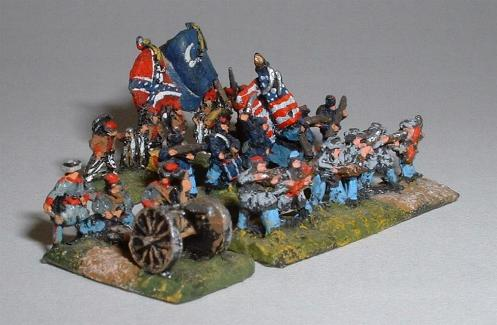 American Civil War range figures