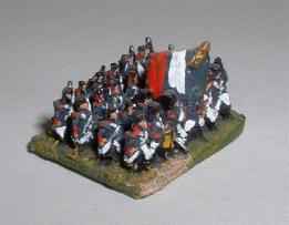 FN11 6mm Napoleonic four rank block