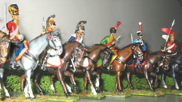 Napoleonic Cavalry - Scots Grey, French Dragoon, Cuirassier, Chasseur à Cheval, Hussar & Chevau-léger