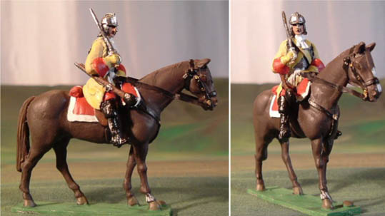 Cuirassier Cavalry with lobster helmet